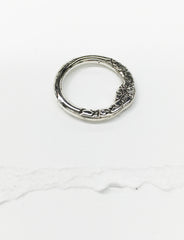 R21-THICK | Thick Sterling Stacking Ring