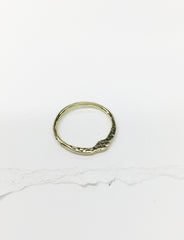 R21-18k YELLOW GOLD | Golden Stacking Ring