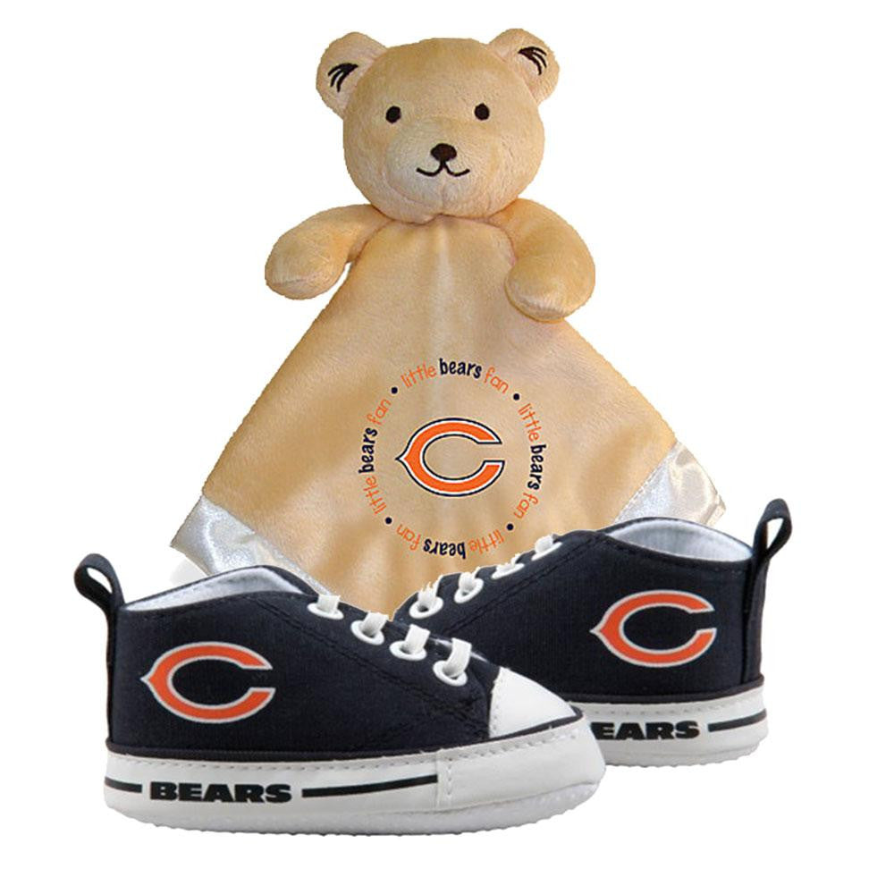 Baby Fanatic Chicago Bears NFL Infant Blanket and Shoe Set