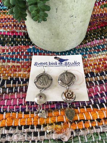 Sweetbird St. Christopher earrings