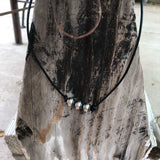 3 bead layer necklace