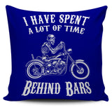 Time Behind Bars Pillow Cover