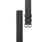 Genuine Leather Watch Band (Silver Hardware)