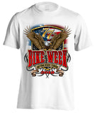 2018 Daytona Beach Bike Week Flag and Eagle - 77th Anniversary (Front Print)