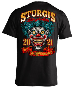 2021 Sturgis Motorcycle Rally Clown - 81st Anniversary
