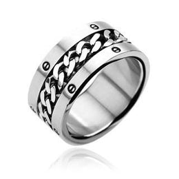Stainless Steel Chain Center Bolt Ring