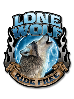 "Lone Wolf 7"" Decal"
