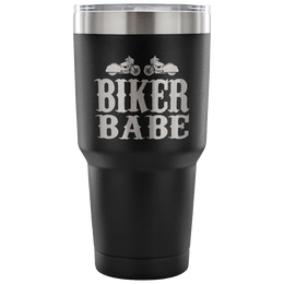 Biker Babe Insulated Tumbler