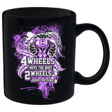 2 Wheels Move The Soul Ladies Mug