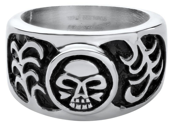Stainless Steel Skull Ring