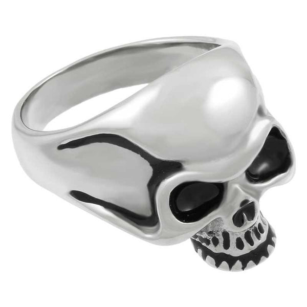 Stainless Steel Casting Classic Skull Ring