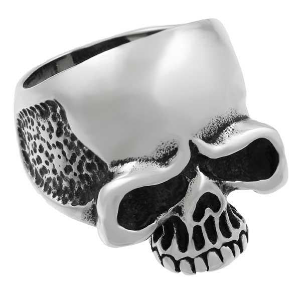 Stainless Steel Classic Skull Ring
