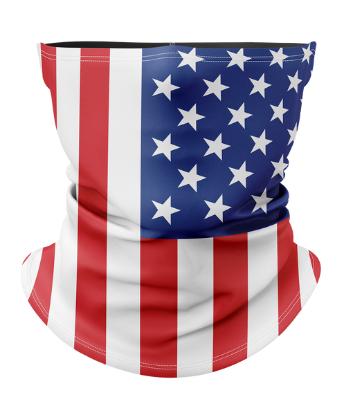 American Flag Face Mask with Filter