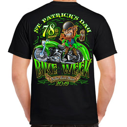2019 Bike Week Daytona Beach St. Patrick's Day T-shirt