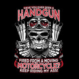 Have You Ever Seen A Handgun Fired From A Moving Motorcycle (Ladies)