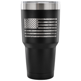 American Flag Insulated Tumbler