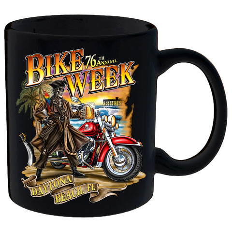 2017 Daytona Beach Bike Week Pirate's Cove - 76th Anniversary Mug