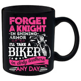 Forget A Knight In Shining Armor, I'll Take A Biker Mug