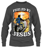 T-shirt - Fueled By Jesus (Front Print)