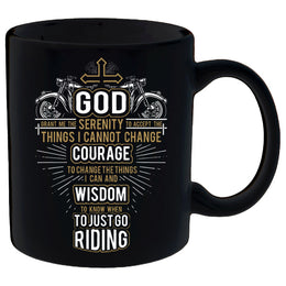 God Grant Me Coffee Mug