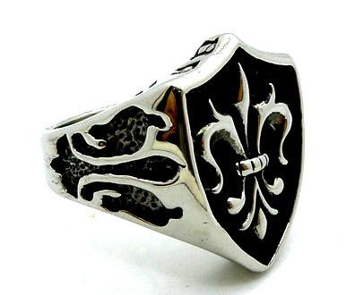 Stainless Steel Shield Ring