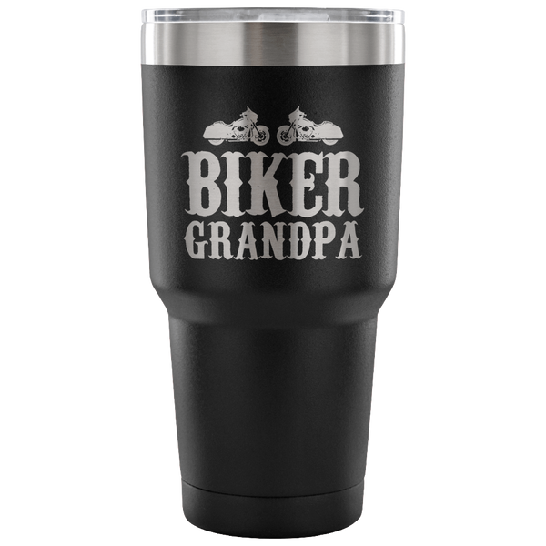 Biker Grandpa Insulated Tumbler