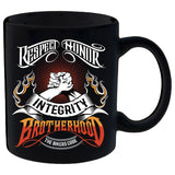 The Bikers Code Brotherhood Mug