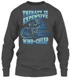 Therapy Is Expensive, Wind Is Cheap (Front Print)