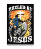Fueled By Jesus Canvas Art