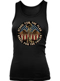 Battlefield Cross Stand For The Flag (Ladies)