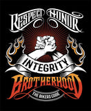 T-shirt - The Bikers Code Brotherhood