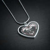 Life Is One Sweet Ride With You By My Side Necklace