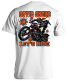 Covid Sucks, Let's Ride T-shirt