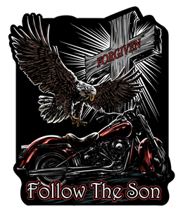 "Follow The Son 7"" Decal"