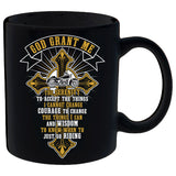 God Grant Me Cross and Banner Mug