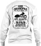 T-shirt - Real Grandpas Ride Motorcycles