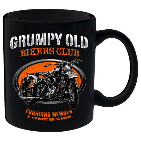 Grumpy Old Bikers Club Motorcycle Mug