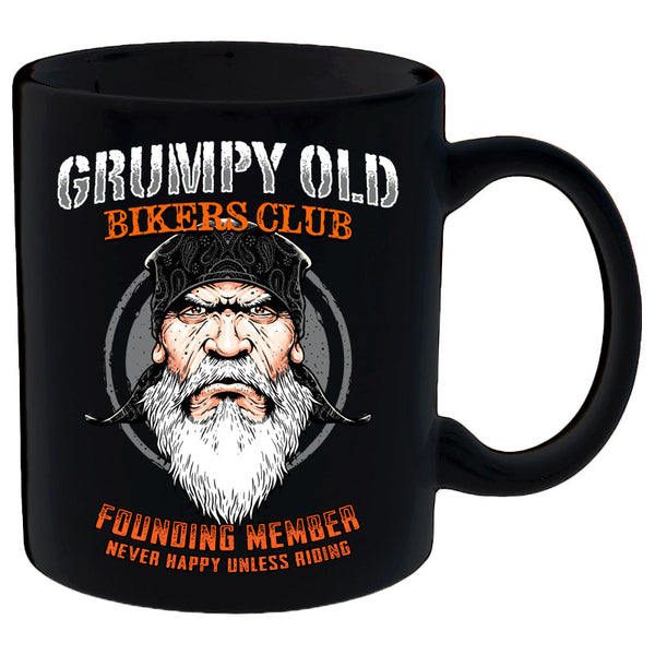 Grumpy Old Bikers Club Founding Member Mug
