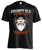 Grumpy Old Bikers Club Founding Member (Front Print)