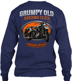 Grumpy Old Bikers Club Motorcycle