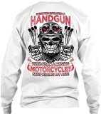 Have You Ever Seen A Handgun Fired From A Moving Motorcycle