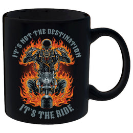 Coffee Mug - It's Not The Destination, It's The Ride Mug