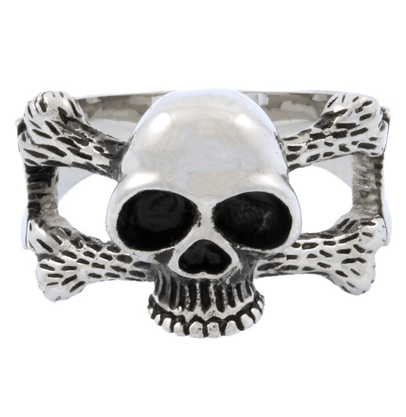 Jewelry - Stainless Steel Skull And Crossbones Ring