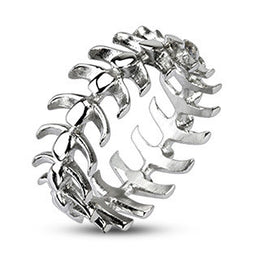 Jewelry - Stainless Steel Vertebrae Ring