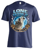 Lone Wolf, Ride Free (Front Print)