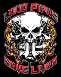 T-shirt - Loud Pipes Save Lives Spitfire