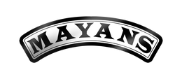 "Mayans Rocker 4"" Decal"
