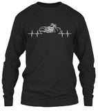 Motorcycle Heartbeat T-shirt