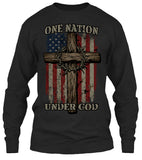 One Nation Under God T-shirt (Front Print)
