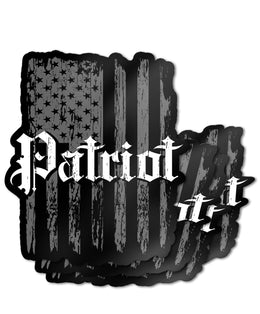 "Patriot Flag 4"" Decal"